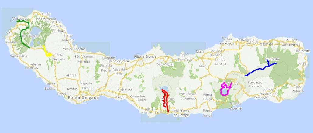 Azores Dream Hiking Holiday Tour