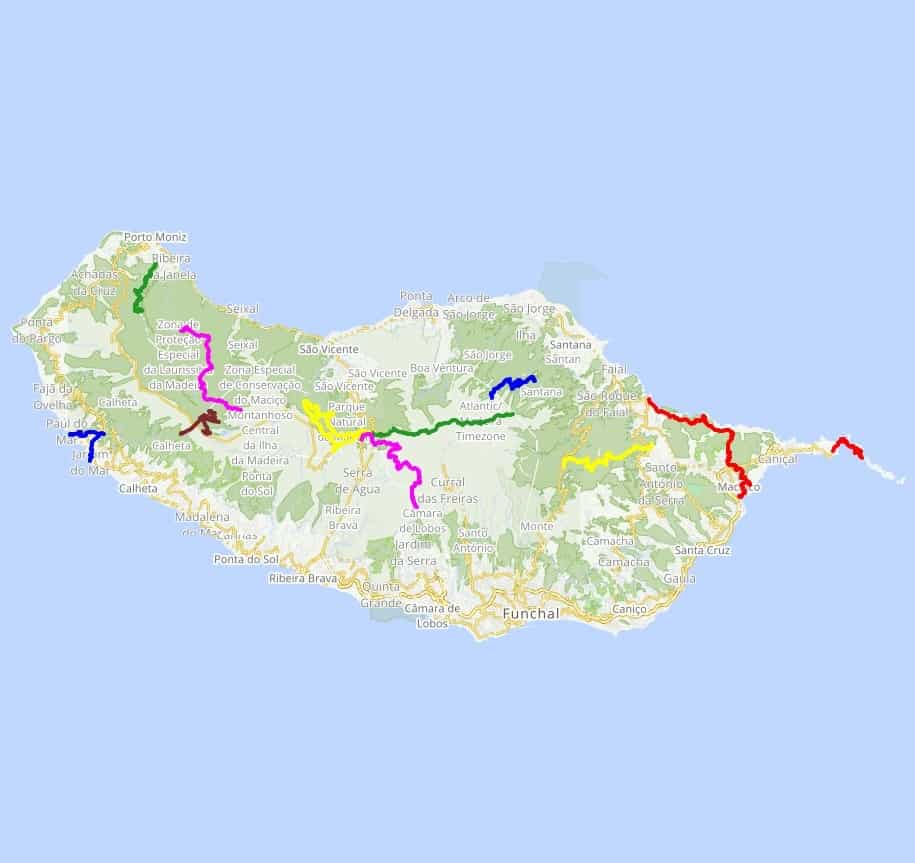 Madeira Island Adventure Hiking Tour