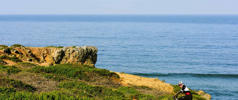 Coastal mountain bike rides in Portugal