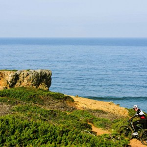 Coastal mountain bike rides in Portugal